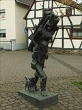 Image for Women and Dog at village square Villiprott - NRW / Germany