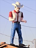 Image for Historic Route 66 - Cowboy Muffler Man - Gallup, New Mexico: