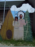 Image for Totem Village Cutout - St. Ignace, MI