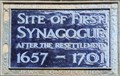 Image for Site of the First Synagogue after the Resettlement - Bury Street, London, UK