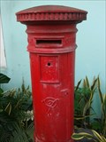Image for Victorian postbox, High Street, St John's, Antigua