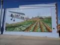 Image for Stearman Kaydet PT 17 Biplane Mural - Terrell, TX