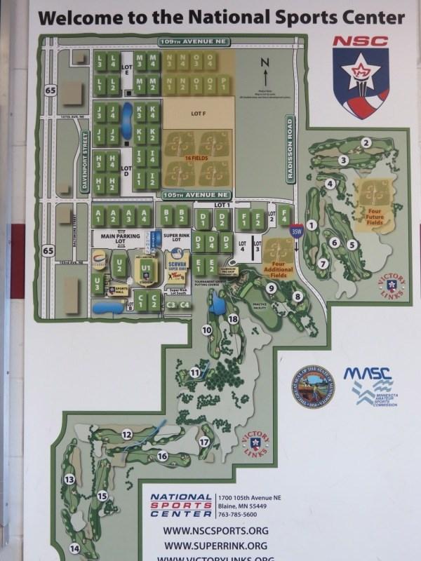 NSC Campus Map