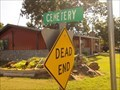 Image for Dead-End Cemetery - Mannsville, OK