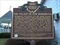 Image for The Village of New Washington : The New Washington Band Marker #7-17