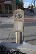 Image for 1928 Lincoln Highway Marker -- Cheyenne WY
