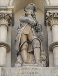 Image for Monarchs - King William III On Side Of City Hall - Bradford, UK
