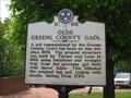 Image for Old Greene County Gaol - 1C 68 - Greeneville, TN
