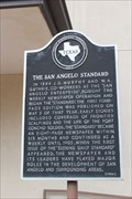 Image for FIRST -- Edition of the Standard newspaper, San Angelo TX