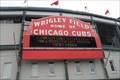 Image for Historic marquee returns to Wrigley Field - Chicago, IL