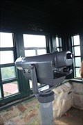 Image for MONO -- Looking over Talladega National Forest, Bunker Tower, Mt Cheaha State Park, AL