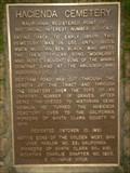 Image for Hacienda Cemetery, New Almaden, CA