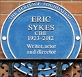 Image for Eric Sykes Blue Plaque - Orme Court, London, UK