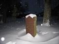 Image for Ruttokivi - Plague memorial stone in Porvoo, Finland