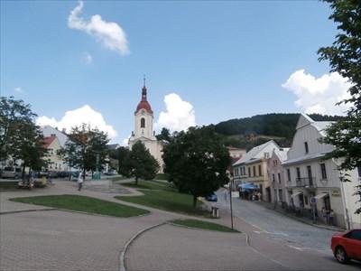 Kostel Sv. Jana Nepomuckého / Church of St. John of Nepomuk - Štramberk