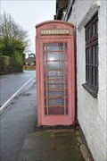 Image for Red telephone box - Claverdon, Warwickshire, CV35 8LJ
