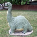 Image for Small Brontosaurus - Glen Rose, Texas