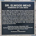 Image for Dr. Elwood Mead ~ Namesake of Lake Mead