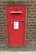 Image for Victorian Post Box, Hammersmith Road, London, W6.