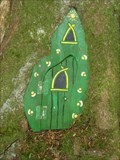 Image for Green Fairy Door with Green Frame - Portpatrick, Scotland, UK