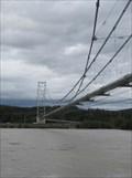Image for Tanana River Pipeline Suspension Bridge - Big Delta, Alaska