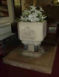Image for Font, St. Michael's Church, Rochford, Worcestershire, England