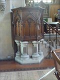 Image for Pulpit, St Peter & St Paul, Upton-upon-Severn, Worcestershire, England