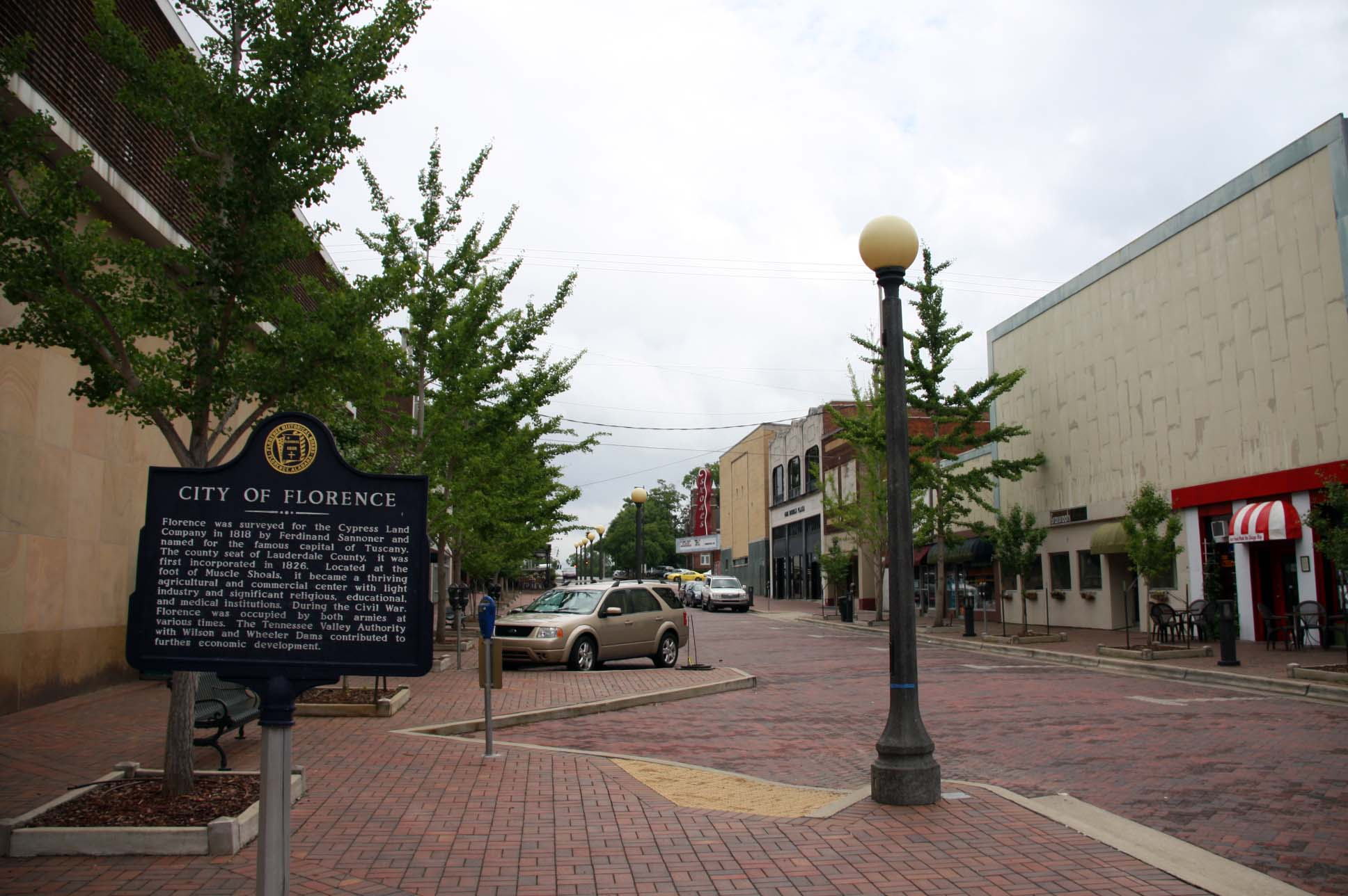 City Of Florence: Alabama Historical