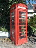 Image for Red Telephone Box - Dießen am Ammersee, Germany, BY