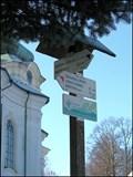 Image for Rozcestnik /Tourist arrows, Smrzovka - kostel, CZ
