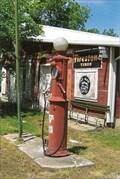 Image for 1930s Conoco Gravity Pump - Elsberry, MO