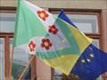 Image for Vlajka obce - Brezina, Czech Republic