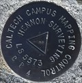 Image for Caltech Campus Mapping Control LS5573 CP4 Mark - Pasadena, CA
