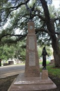 "Image for ""Spirit of Flight"" and ""Maria Regina"" -- Texas State Cemetery, Austin TX"