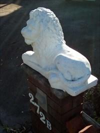 The southern, recumbant lion. 0737, Thursday, 27 December, 2018