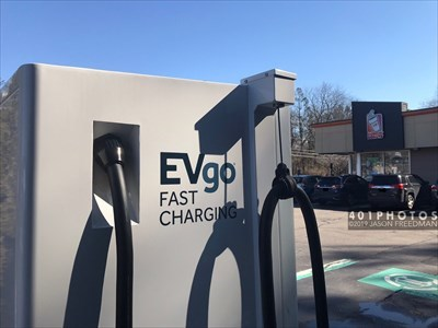 Dunkin' Donuts EVgo Charging Station - East Greenwich, Rhode
