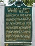 Image for Michigan's First Jewish Settler - Mackinaw City, MI