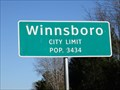 Image for Winnsboro, TX - Population 3434
