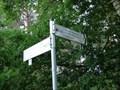 """Image for Arrows at hiking trail """"Sagenhafte Sicht im Elfenland"""" - Müden, Niedersachsen, Germany"""