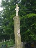 Image for Tightrope Walker Sculpture - Rudyard, Nr Leek, Staffordshire Moorlands.