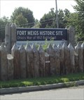 Image for LARGEST wooden walled  fortification in North America - Fort Meigs, Perrysburg, Ohio