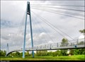 Image for Celákovická zavešená lávka  /  Celakovice Cable-Stayed Footbridge (Central Bohemia)