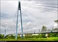 Image for Celákovická zavešená lávka  /  Celakovice Cable-Stayed Footbridge (Central Bohemia)