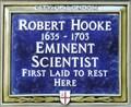 Image for Robert Hooke - Undershaft, London, UK