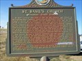 Image for St. Basil Church, Mossman, South Dakota