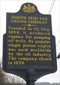 Image for Joseph Reid Gas Engine Company - Oil City, PA