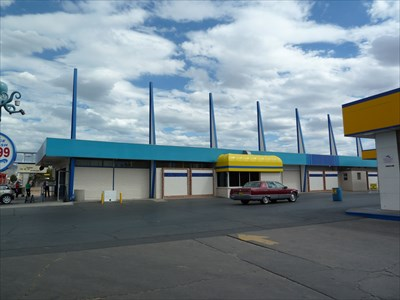 octopus car wash albuquerque new mexico googie architecture on. Black Bedroom Furniture Sets. Home Design Ideas