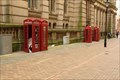 Image for Red Telephone Boxes - Eden Place, Birmingham, UK
