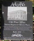 Image for Old Bend Post Office