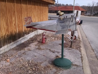 Snoopy Plane Mailbox, by MountainWoods
